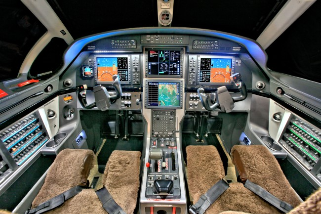 PC12NG sn1158 - Cockpit 125m
