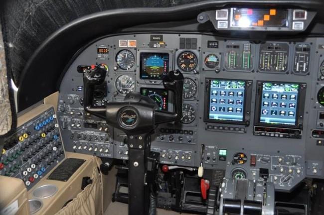 525-0255 Cockpit L