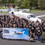 Textron Aviation celebrates light jet leadership with 2,000th delivery for Cessna CJ family | The JetAv Blog
