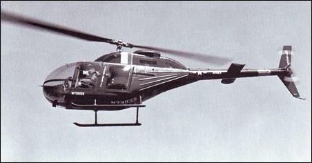 Bell 206 (OH-4) First Flight by Jack Schweibold | The JetAv Blog