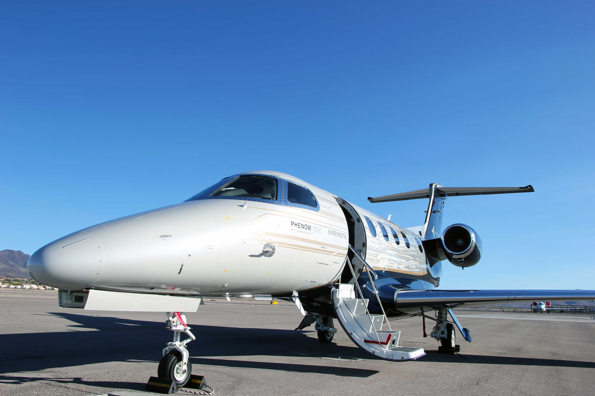 Embraer Launches The New Phenom 300e Business Jet Featuring